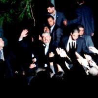 CELEBRACIÓN PALESTINA DE SU VICTORIA EN GAZA Y DEL CUARTO DE SIGLO DE HAMAS