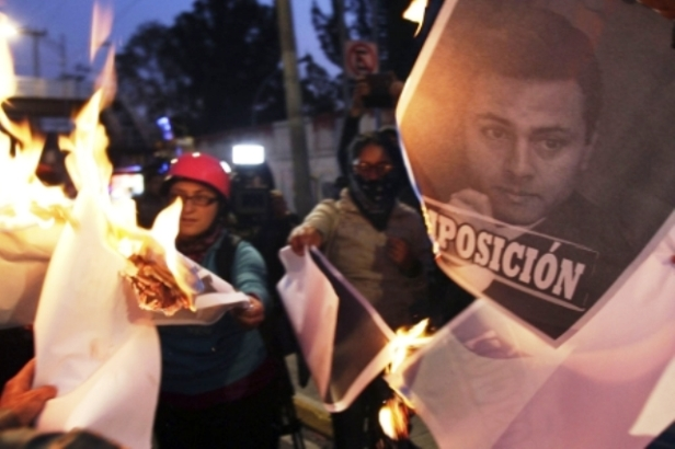 disturbios en mexico