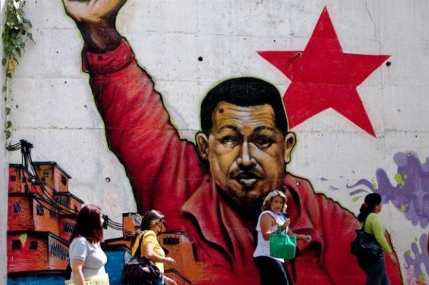 Foto-Chávez-imagen en un muro