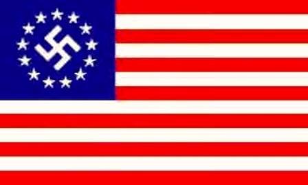 yanquisionista bandera
