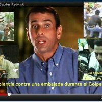 EL DERROTADO CAPRILES BUSCA Y REBUSCA GOLPE ANTIINSTITUCIONAL VENEZOLANO
