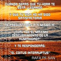 UNA REFLEXIÓN MUY PROFUNDA PARA EL DÍA DE HOY