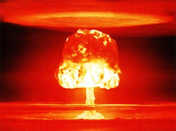la bomba nuclear