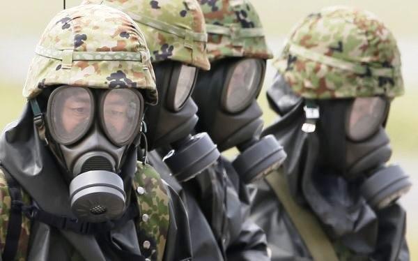 máscaras-guerra química