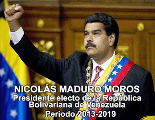 Nicolas Maduro presidente de Venezuela 2013- 2019