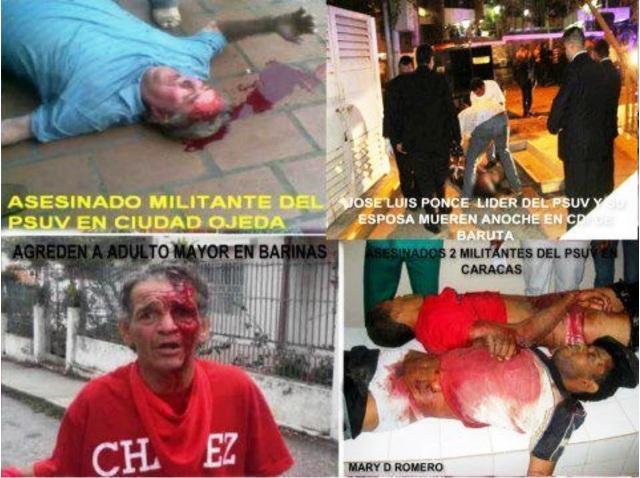 victimas del fascismo venezolano