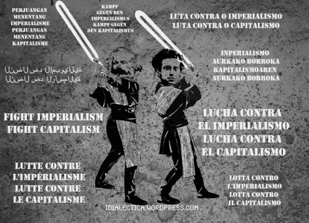 abajo con el imperialismo