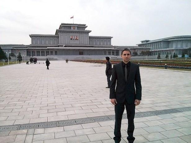 aitor duran en pyongyang