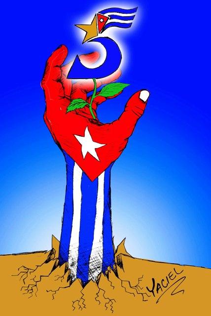 cinco heroes cubanos-su caso