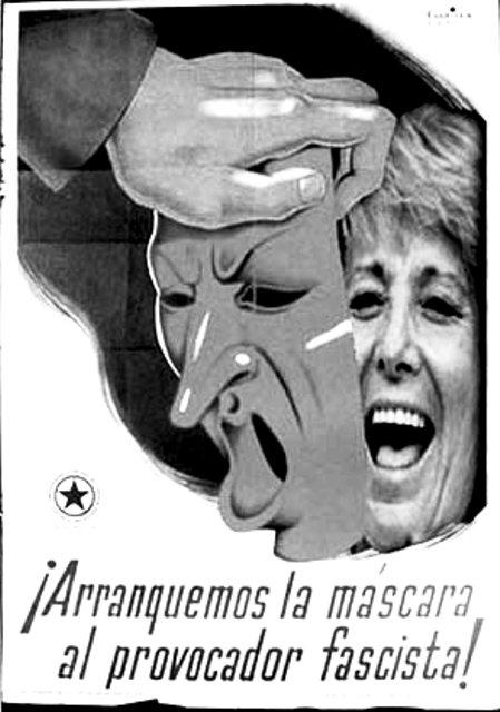 Fascista, provocadora, impresentable y fracaso ideológico andante
