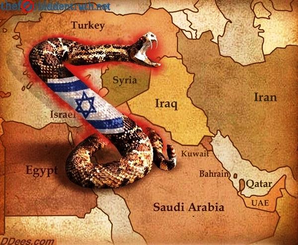 la serpiente sionista