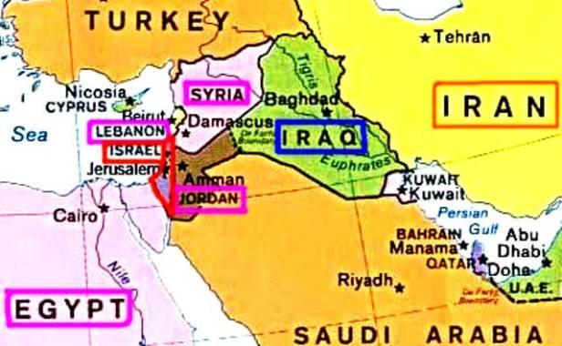 mapa-israel-egipto-libano-jordania-iraq-iran-turquia