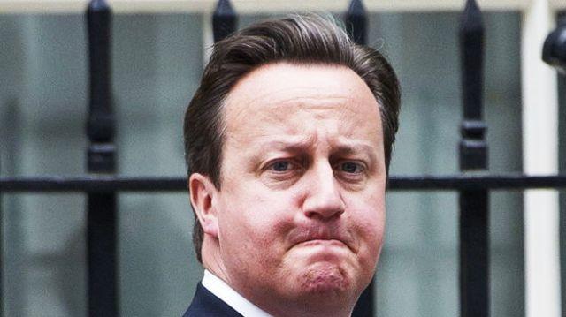 Cameron de las Islas Británicas no puede ocultar su grave estreñimiento político