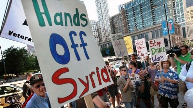 dejen en paz a Siria