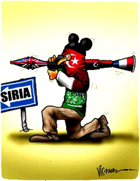 asedio a Siria
