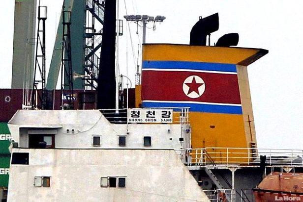 buque norcoreano