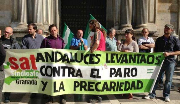 lucha obrera andaluza