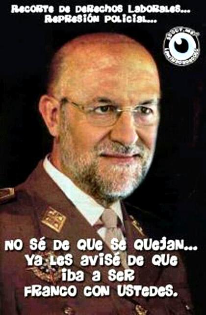 Mariano Rajoy muy franco