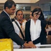 El Presidente Correa se había enterado a través de Fidel de que a Chávez le quedaba poco tiempo de vida
