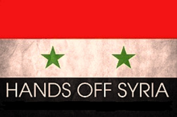 no toquen a siria