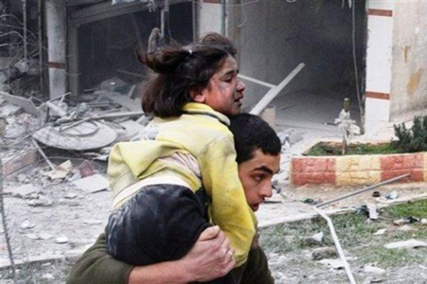 violencia contra inocentes en Siria