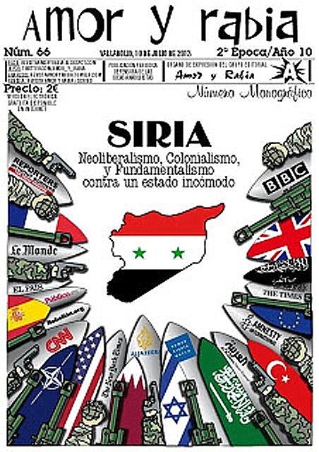 odio a siria