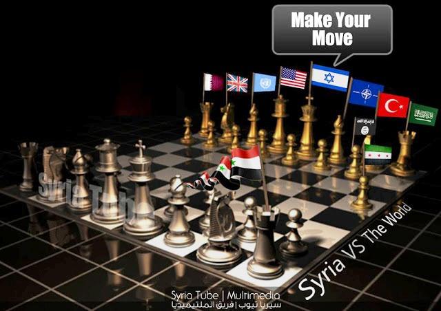 siria frente a sus enemigos