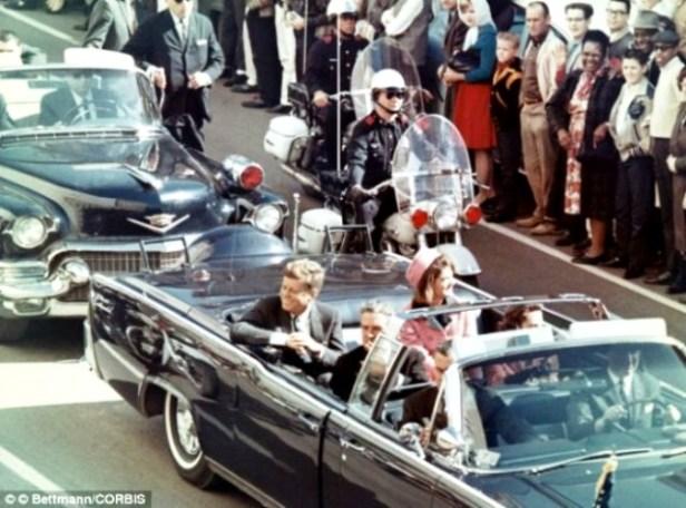 asesinato-de-kennedy- coche presidencial