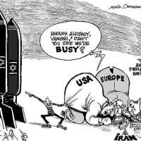 Israel fabrica bombas atómicas. No consta que Irán lo haga pero...