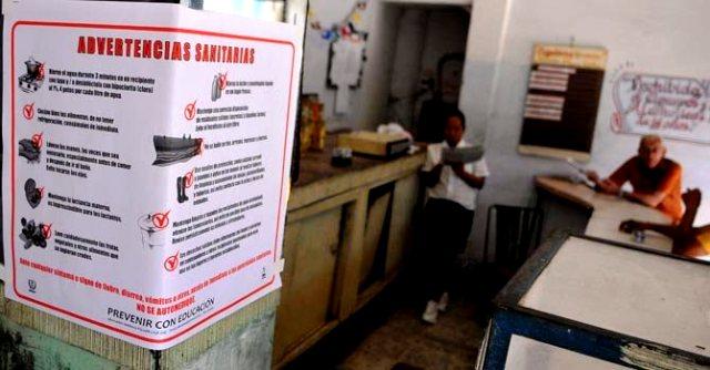 lucha cubana contra el cólera