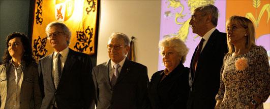 Los premios en el capitalismo se los lleva el capitalista: Espiga de Oro 2011 a Hullera Vasco-Leonesa, que recogió su dueño Antonio del Valle Alonso.