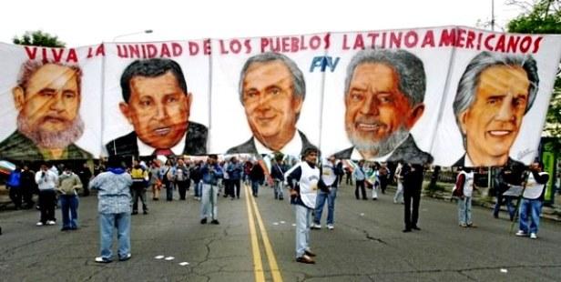 Fidel, Chávez, Néstor, Lula y Tabaré: símbolos de una etapa regional latinoamericana de extraordinaria relevancia