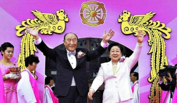 Surcorea es la cuna de feroces anticomunistas como el impresentable de esta foto, afortunadamente fallecido. ¡Qué pena de país!