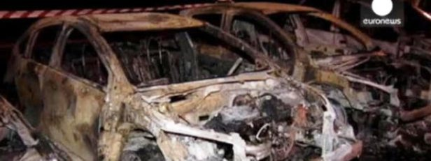 coches quemados