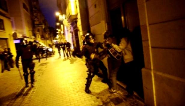 protesta can vies-represión