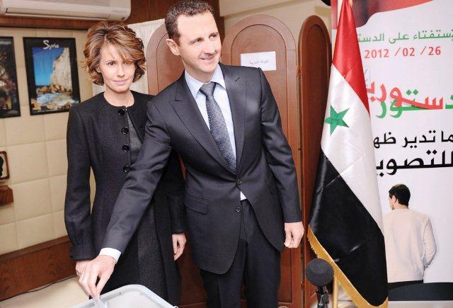 """El """"dictador"""" y la """"dictadora"""" de Siria. Que se jodan sus calumniadores e injuriadores"""